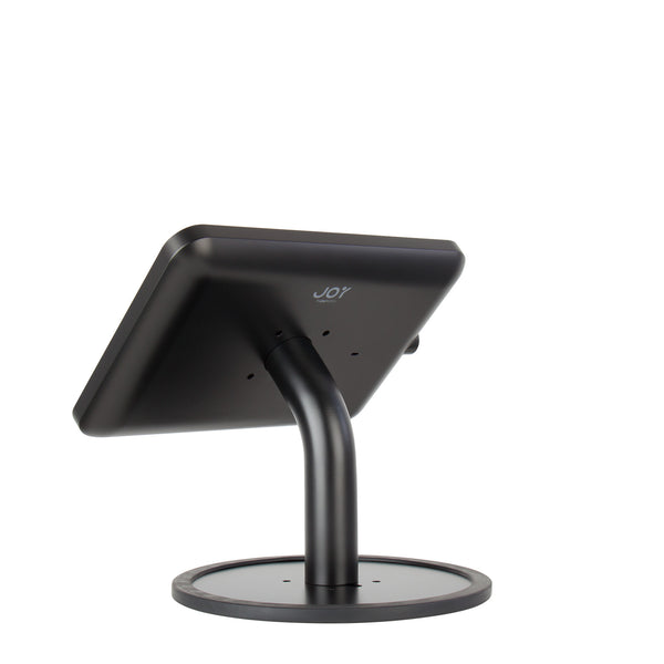 kiosks - Elevate II Countertop Kiosk for iPad 9.7 5th Generation | Air (Black) - The Joy Factory