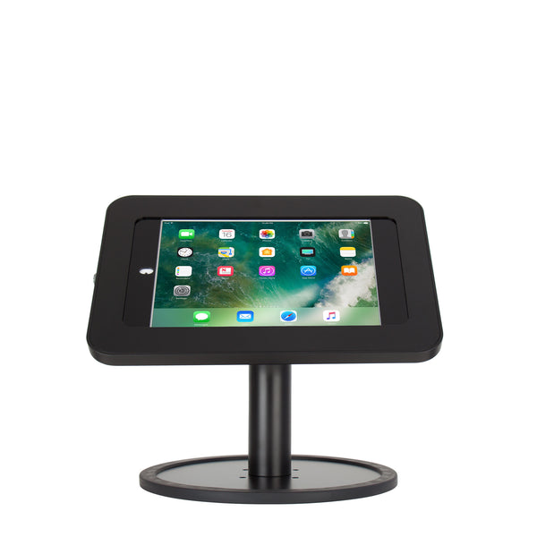 kiosks - Elevate II Countertop Kiosk for iPad Pro 9.7, Air 2 (Black) - The Joy Factory