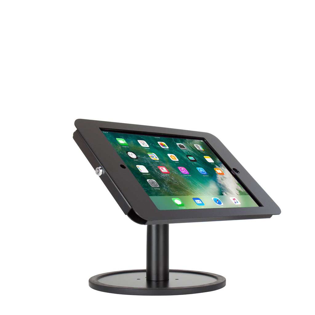 kiosks - Elevate II Countertop Kiosk for iPad Pro 12.9 (Black) - The Joy Factory