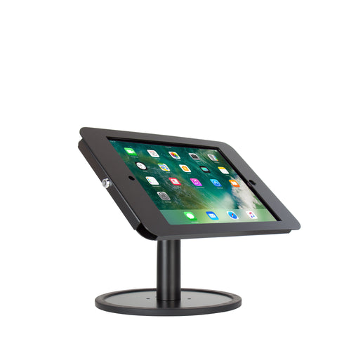 "kiosks - Elevate II Countertop Kiosk for iPad Pro 12.9"" (Black) - The Joy Factory"
