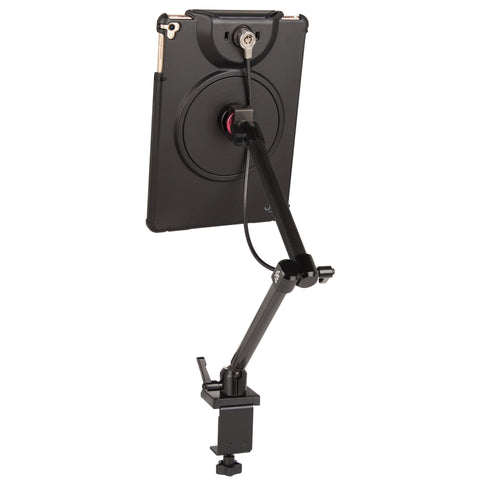 MagConnect Clamp Mount w/ LockDown for iPad Pro 9.7, Air 2 (Cable Lock Included) - The Joy Factory