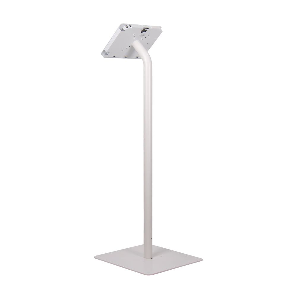 kiosks - Elevate II Floor Stand Kiosk for Surface Go (White) - The Joy Factory