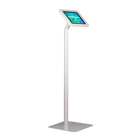 Elevate II Floor Stand Kiosk for Galaxy Tab S2 9.7 (White) - The Joy Factory