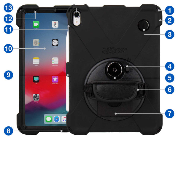 "cases - aXtion Bold MPS with Key Lock for iPad Pro 11"" (Black) - The Joy Factory"