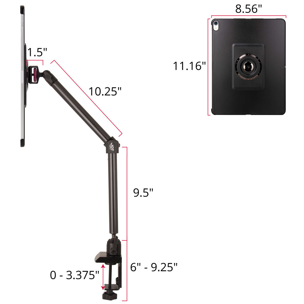 - MagConnect Clamp Mount for iPad Pro 12.9