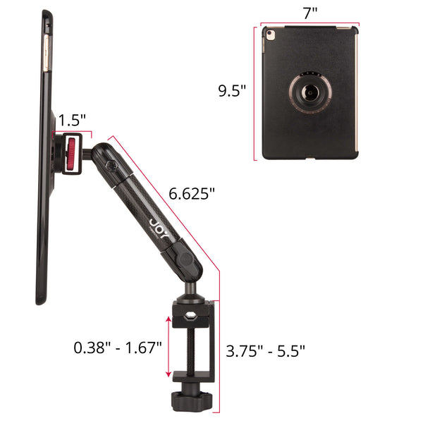 ipad c-clamp mount