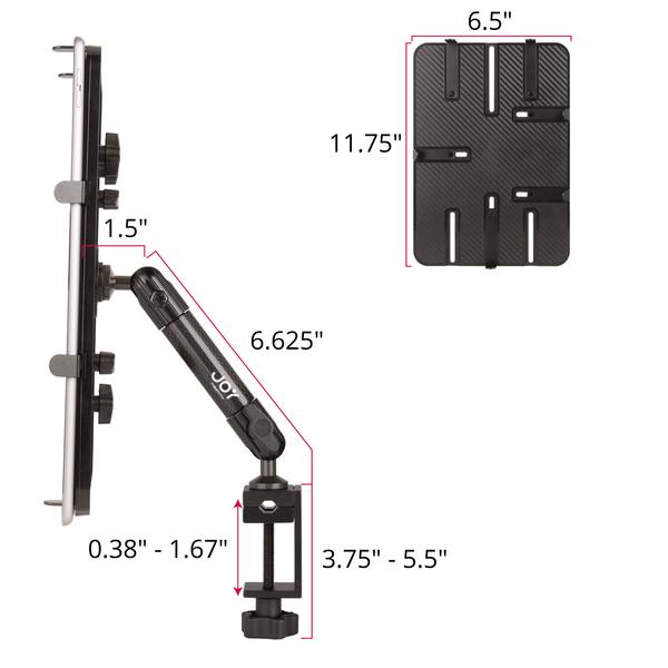 "mount-bundles - Unite C-Clamp Mount for 12""-13"" Tablet and Ultrabook - The Joy Factory"