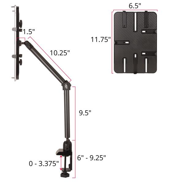 "mount-bundles - Unite Clamp Mount for 12""-13"" Tablet and Ultrabook - The Joy Factory"