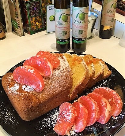 Baking with Olive Oil - Grapefruit Cake