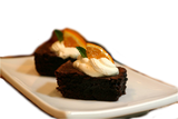 Blood Orange EVOO Fudge Brownies