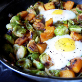 Paleo Brussels Sprout Hash