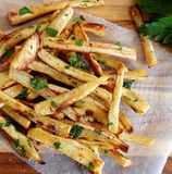Parsnip Fries with Truffle Oil