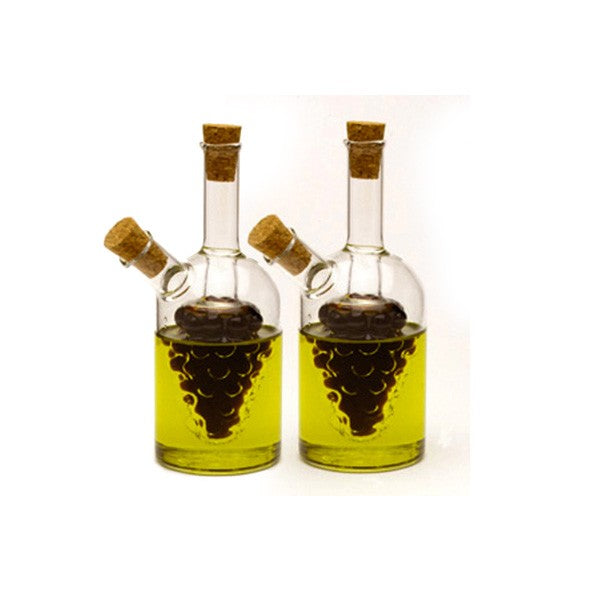 Oil / Vinegar Cruets, Grape, 2PCS