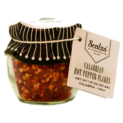Calabrian Hot Pepper Flakes in Amphora Jar, 1.06 oz (30 gr)
