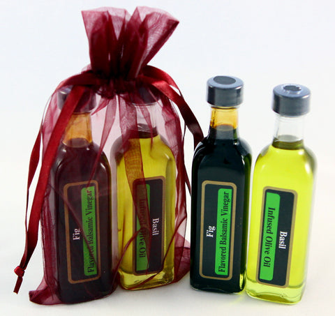 60 ml (2.02 fl. oz) samplers of Olive Oils and/or Balsamic Vinegars