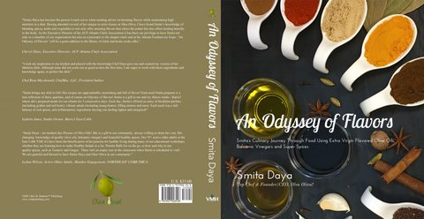 """An Odyssey of Flavors"" by Smita Daya (signed copy)"