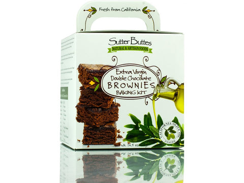 Extra Virgin Olive Oil Brownie
