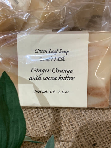 Ginger Orange with Cocoa Soap