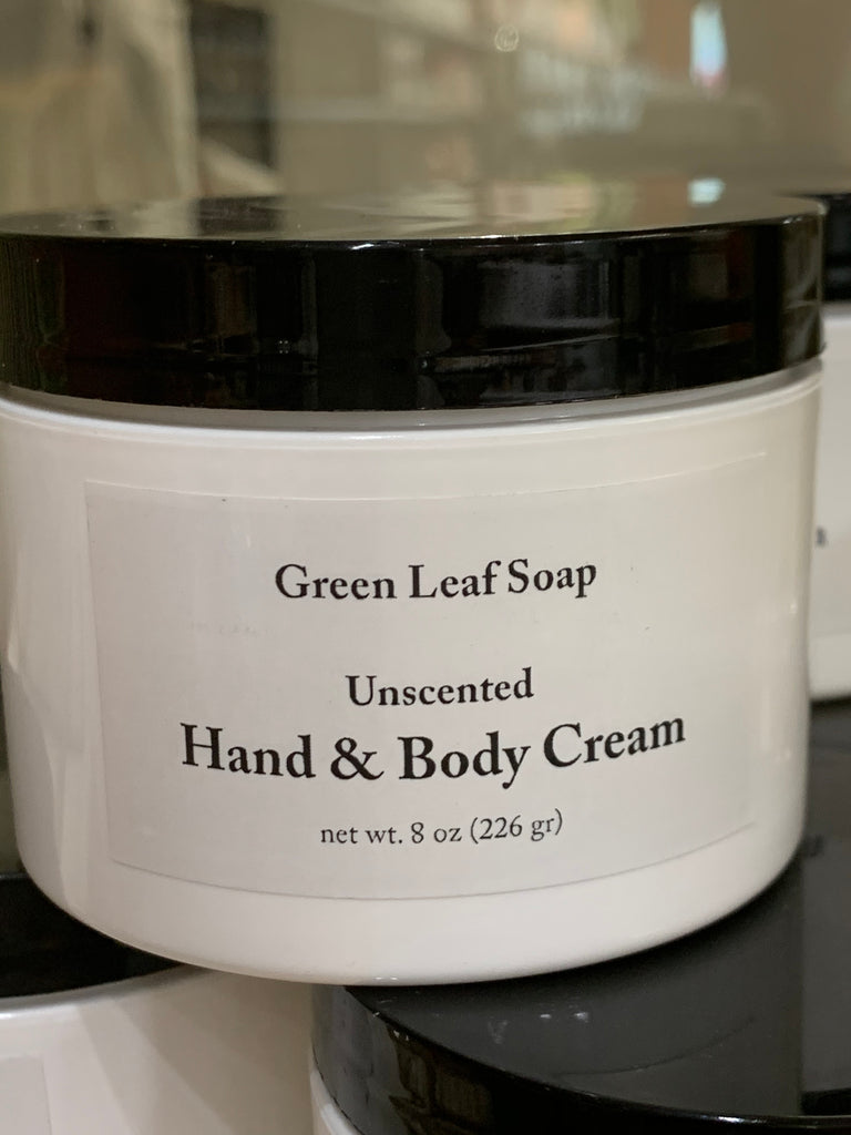 Hand and Body Cream Unscented