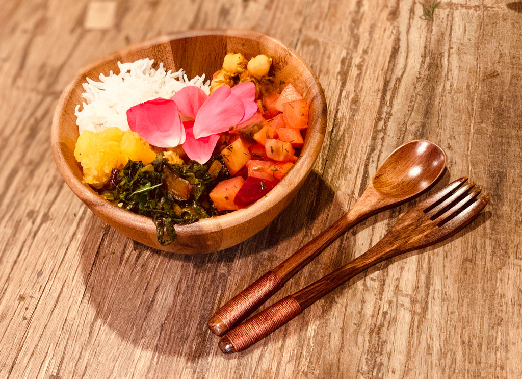 01/26/2020 - Playing with Six Tastes - An introduction to creating balanced meals using Ayurvedic principles.