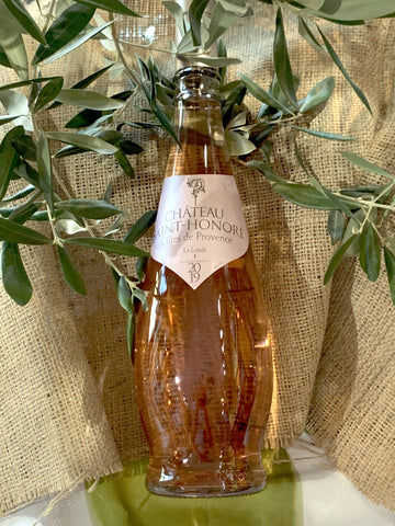 Ch. St Honore, Rose', Cotes de Provence, France (2019) (IN-STORE WINE PICKUP with ID)