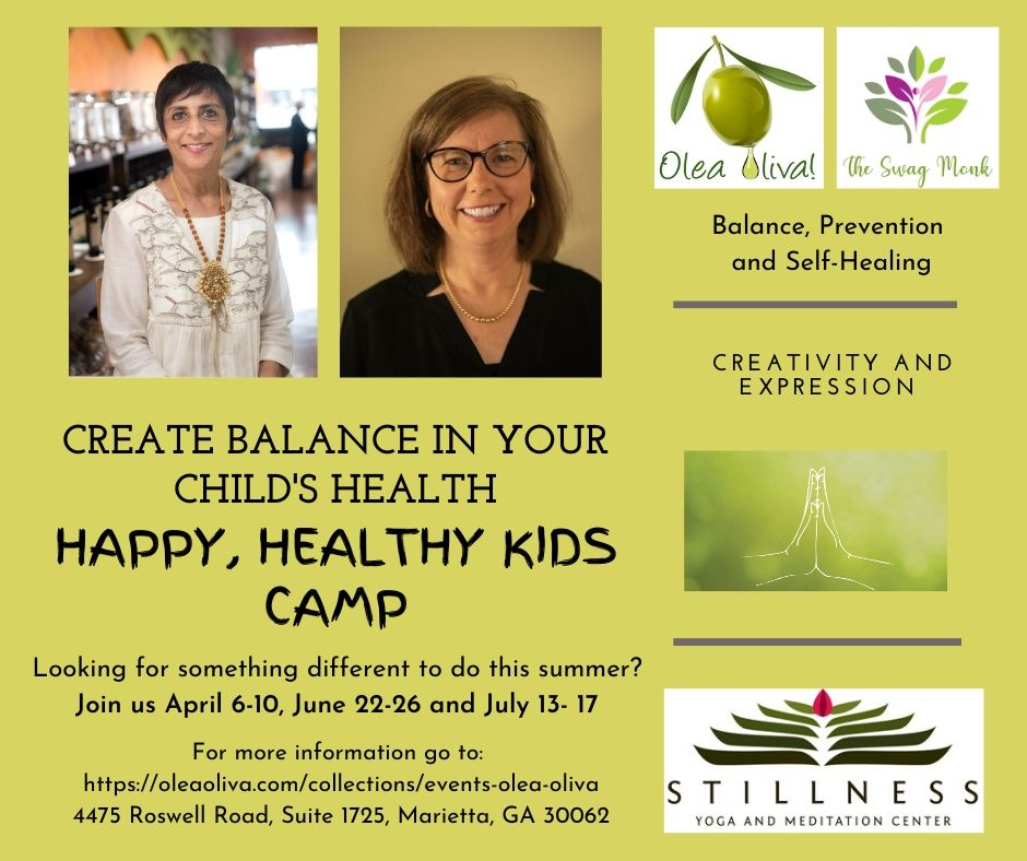 One week camp - Create balance in your Child's Health (multiple date options to choose from)