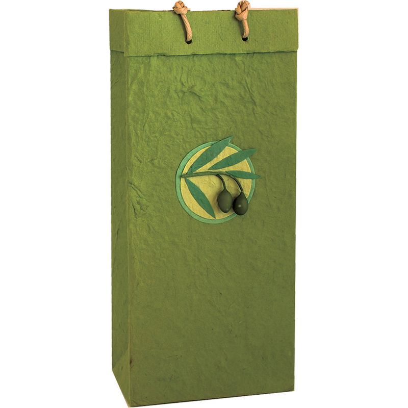 Double bottle Castilla Olive Bag