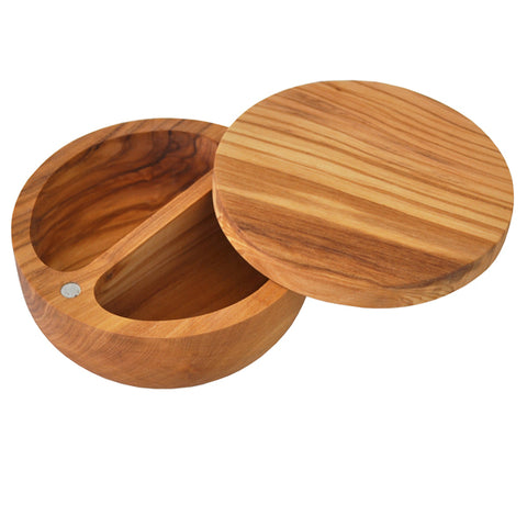Olive Wood Salt and Pepper Cellar