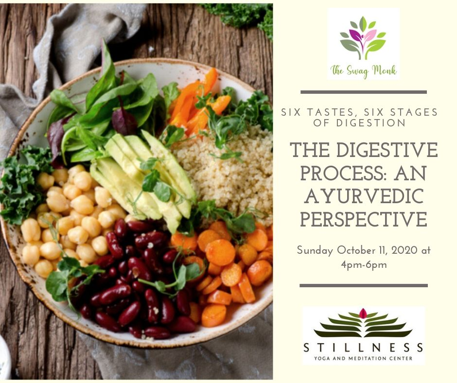 10/11/2020 - The Digestive Process - An Ayurvedic Perspective