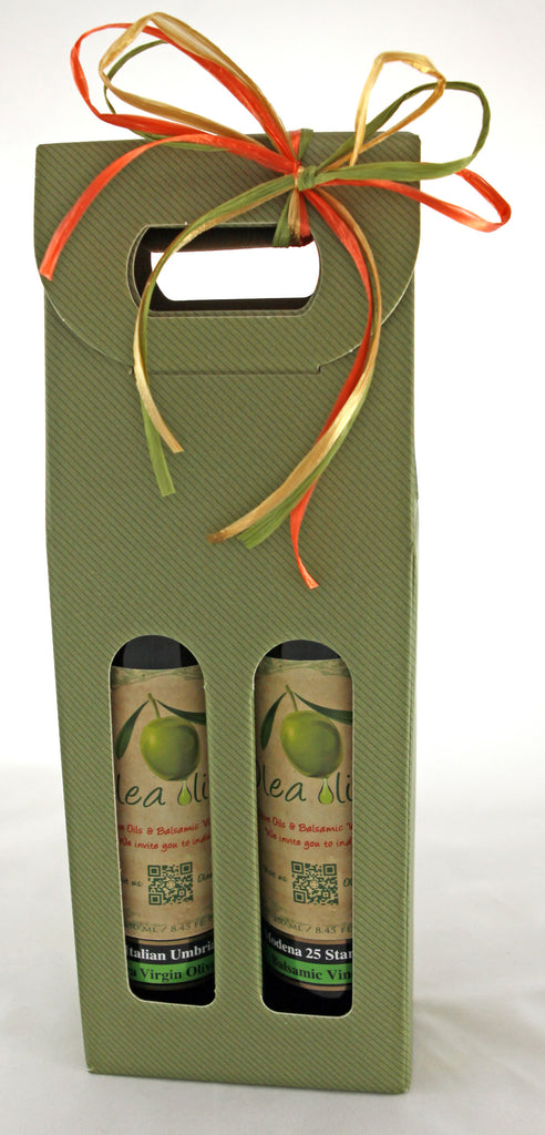 Option C ($38.00) : 2 x 250 ml EV Olive Oil and Balsamic Pairing