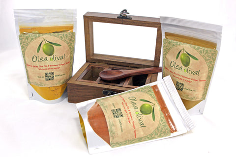 Option H ($46.90) : Small Spice box with 3 spices/blends of your choice