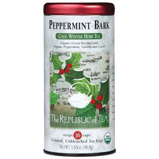 Organic Peppermint Bark Herb Tea Bags