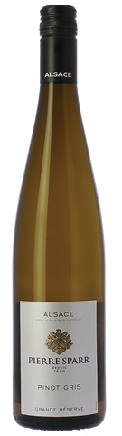 Pierre Sparr, Pinot Gris, AC Grande Reserve, France  (2017) (IN-STORE WINE PICKUP with ID)