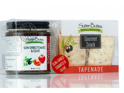 Sun-Dried Tomato Tapenade Grab and Go