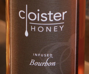 Bourbon Infused Honey (3 oz)