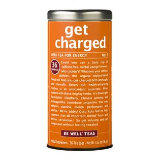 get charged® - No. 3 Herb Tea for Energy - 36 Tea Bags