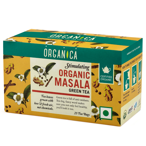 Stimulating Masala Green Tea - Organic Tea