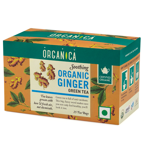Soothing Ginger Tea - Organic Tea