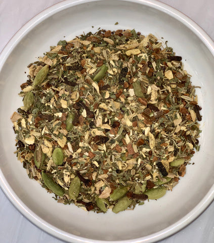 Ayurvedic inspired Tulsi herbal chai