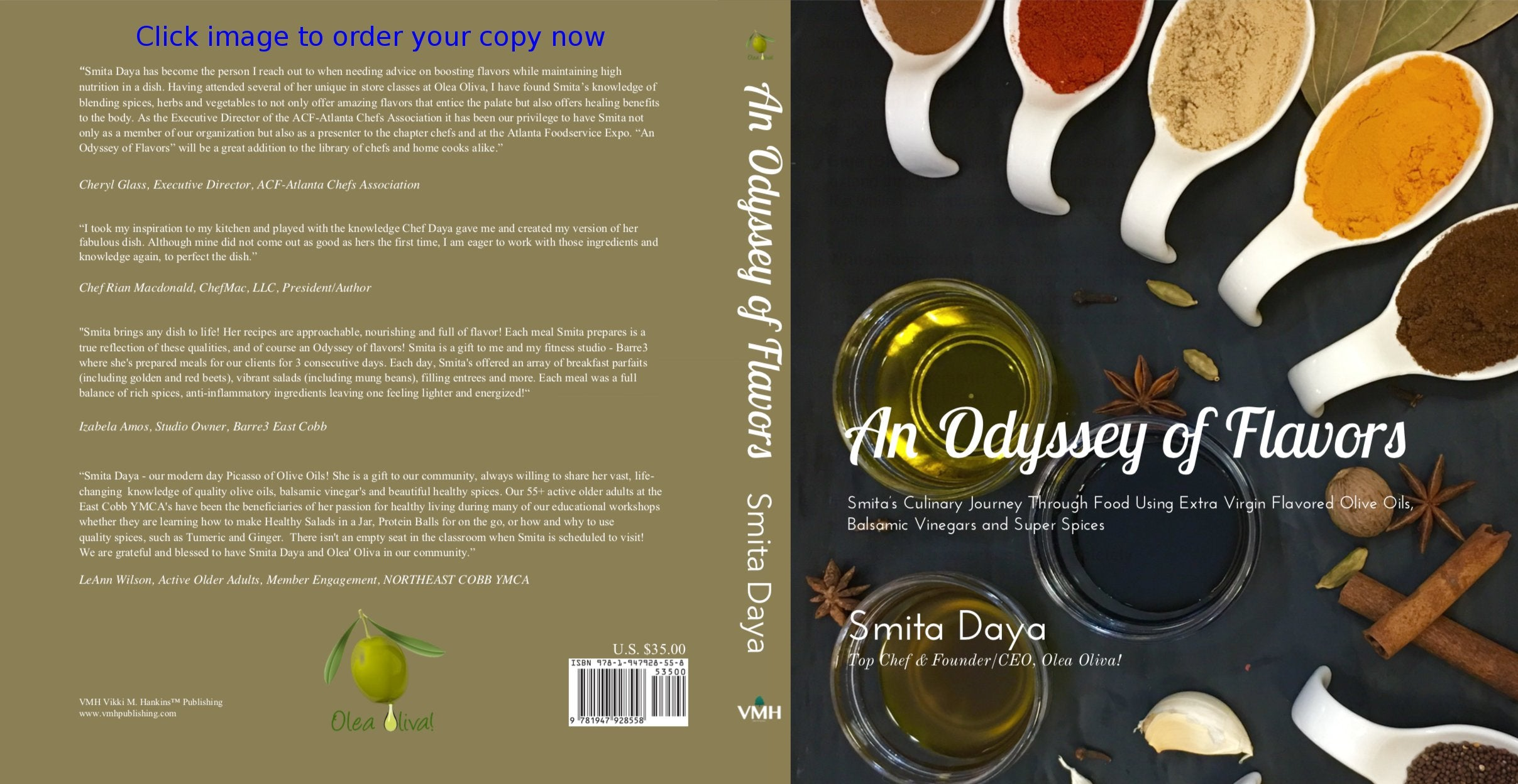 "Pre-order ""An Odyssey of Flavors"" by Smita Daya (signed copy)"