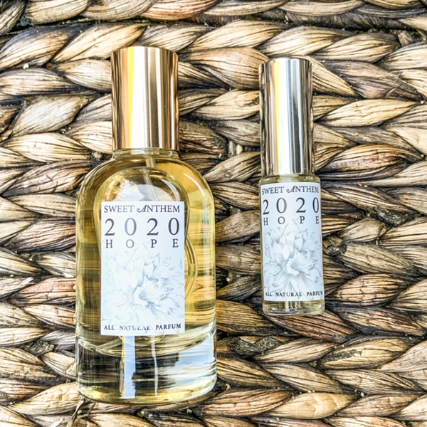 2020, Hope - uplifting yuzu, comforting vanilla & a dash of lavender