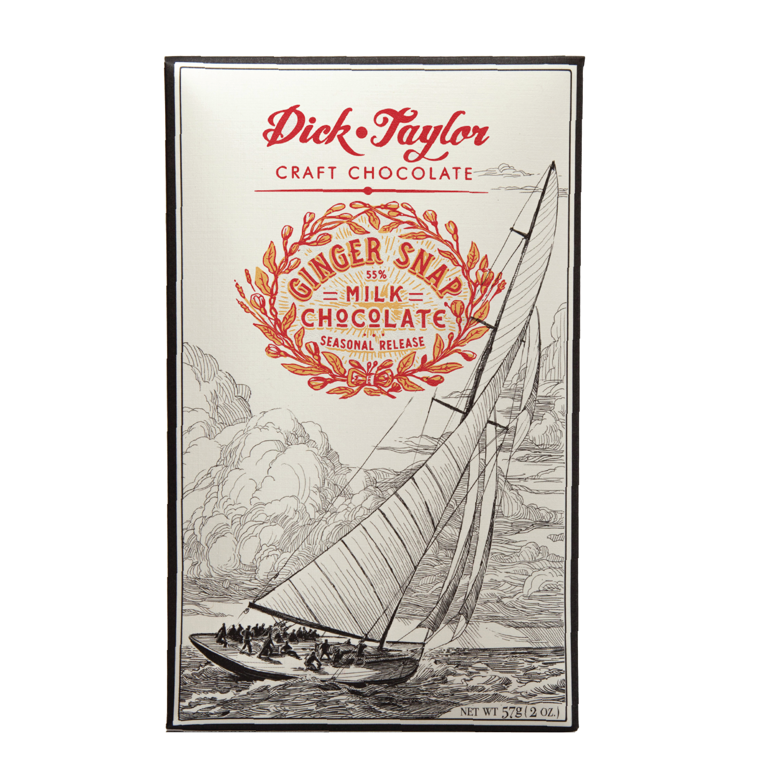 Dick Taylor Ginger Snap Milk Chocolate