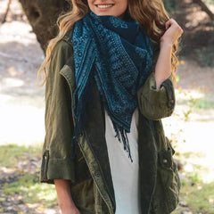 LETO A. PAISLEY BLANKET SCARF