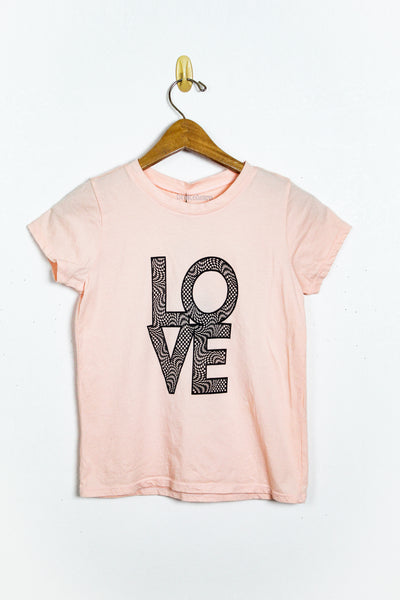 Brokedown Love Check Kids Tee