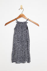 Greylin Yasmine Kids Animal Print Halter Dress