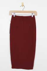 Bishop + Young Button Front Skirt