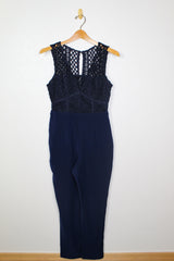 Adelyn Rae Capri Jumpsuit
