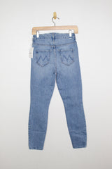 Mother HW Looker Ankle Denim