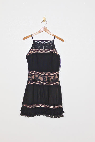 A Rae Black Lace Dress