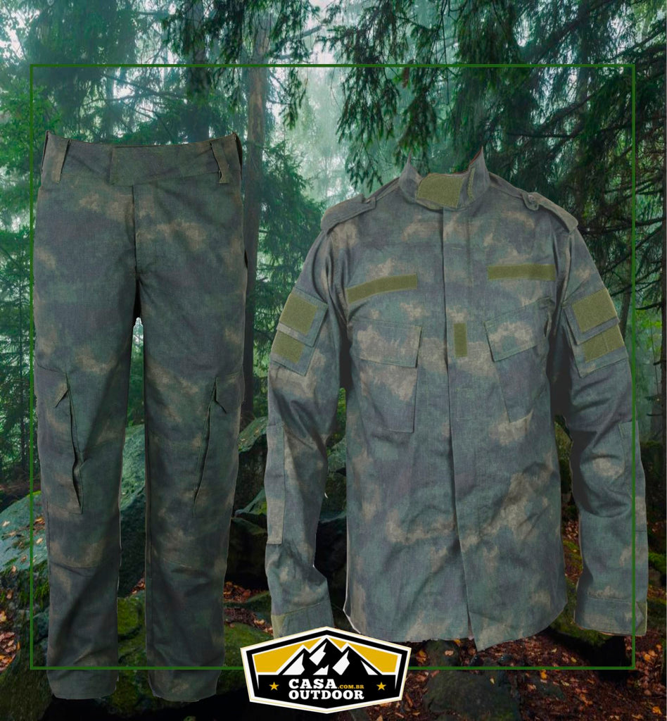 Camuflagem Dark Florest